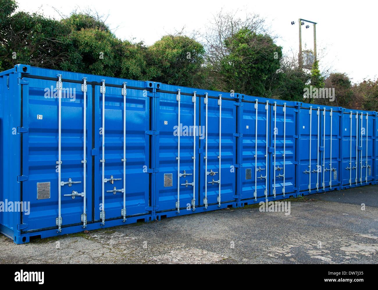 Verrou de sécurité métallique ups Photo Stock