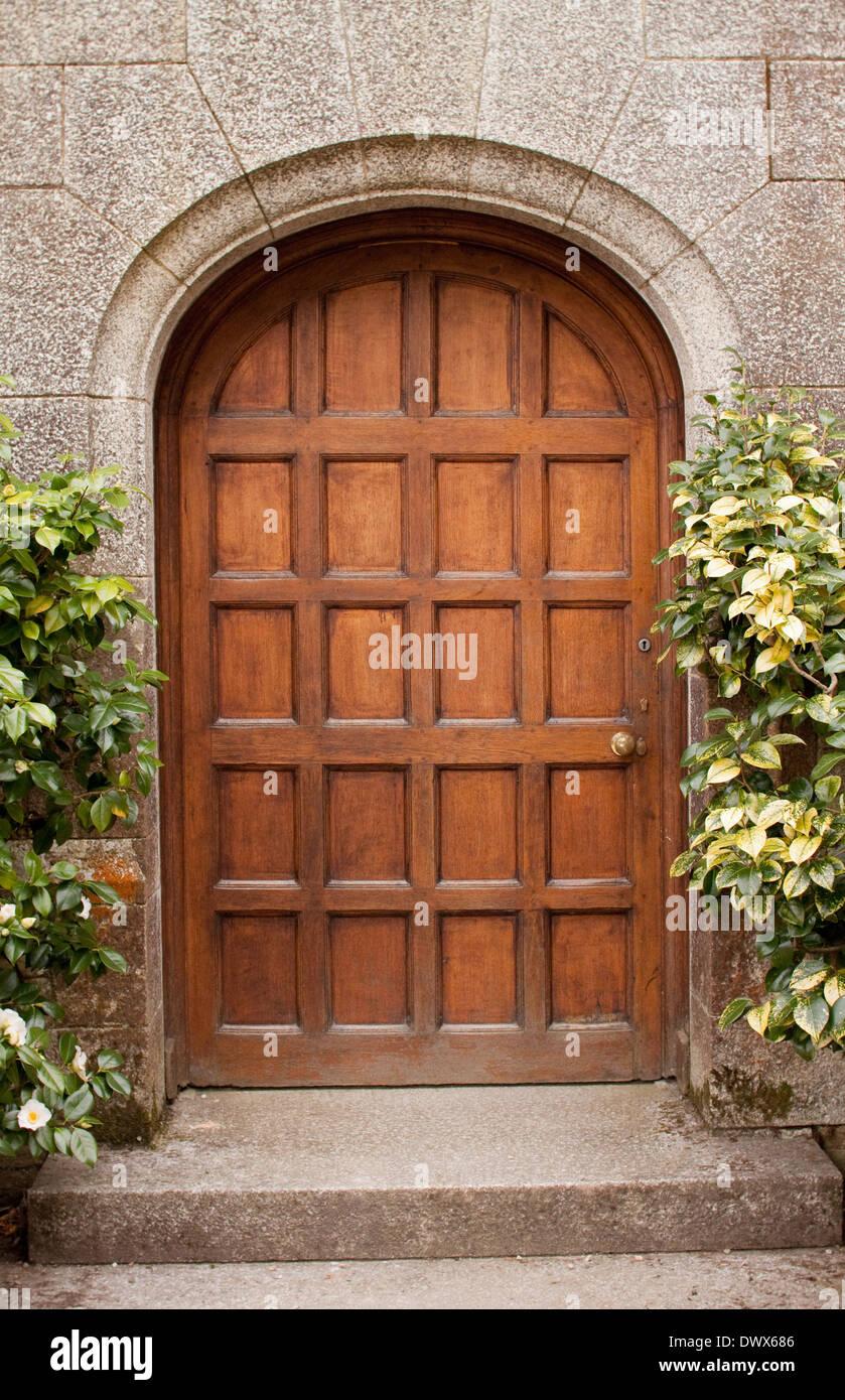 Porte Du0027entrée Dans Un Manoir Anglais, Dans Le Style Art Et Artisanat