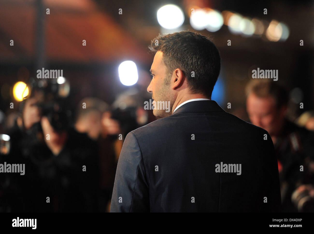 Ben Affleck 56th BFI London Film Festival: Argo - Accenture gala tenu à l'Odeon Leicester Square - Arrivées. Londres, Angleterre - 17.10.12 Avec: Ben Affleck Où: London, Royaume-Uni Quand: 17 Oct 2012 Photo Stock