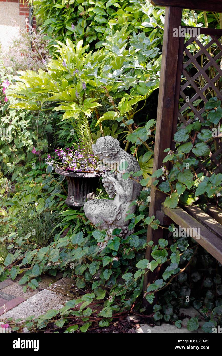 Jardin romantique anglais d\'été Banque D\'Images, Photo Stock ...