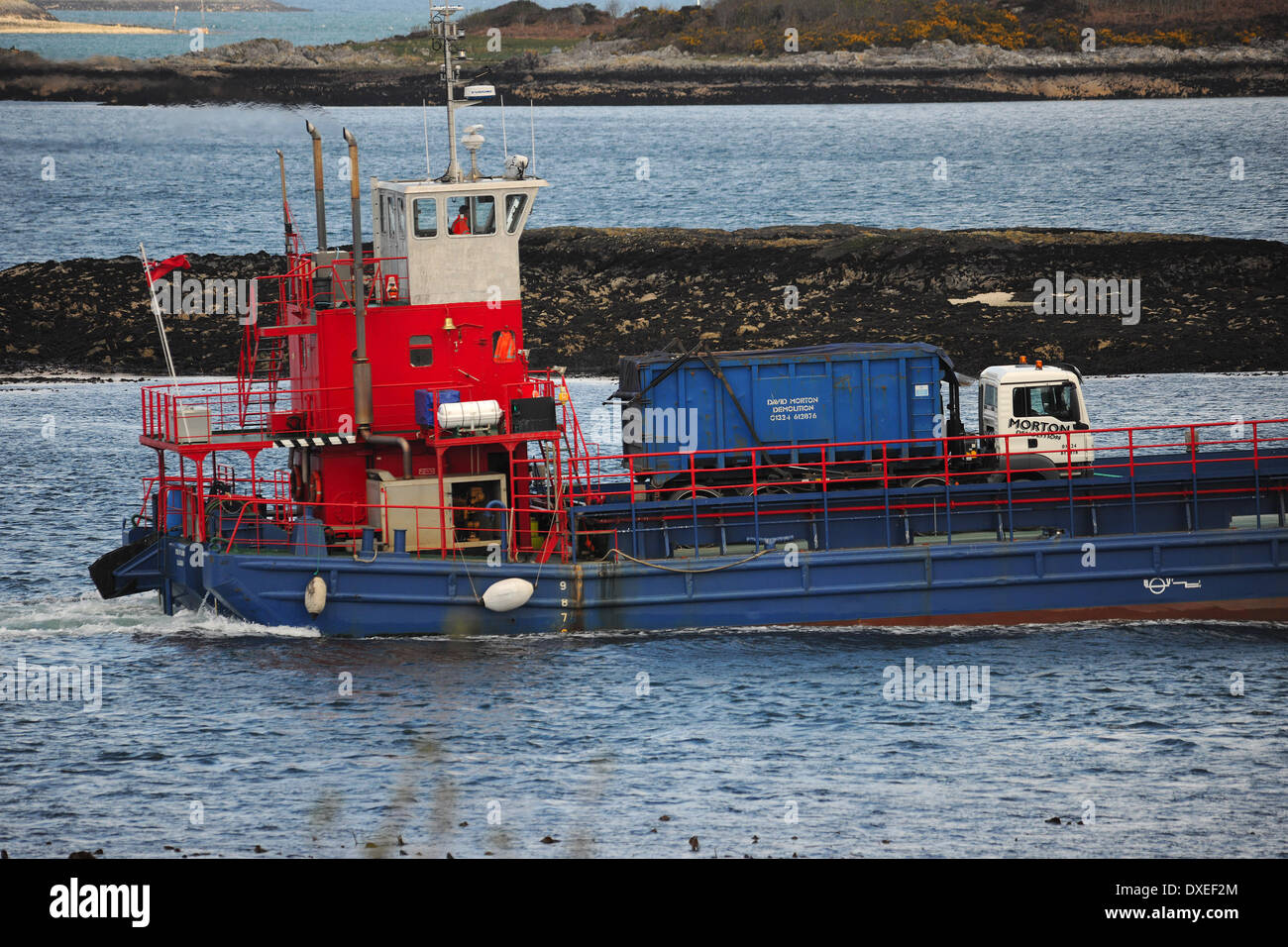 glensanda ferry photos & glensanda ferry images - alamy