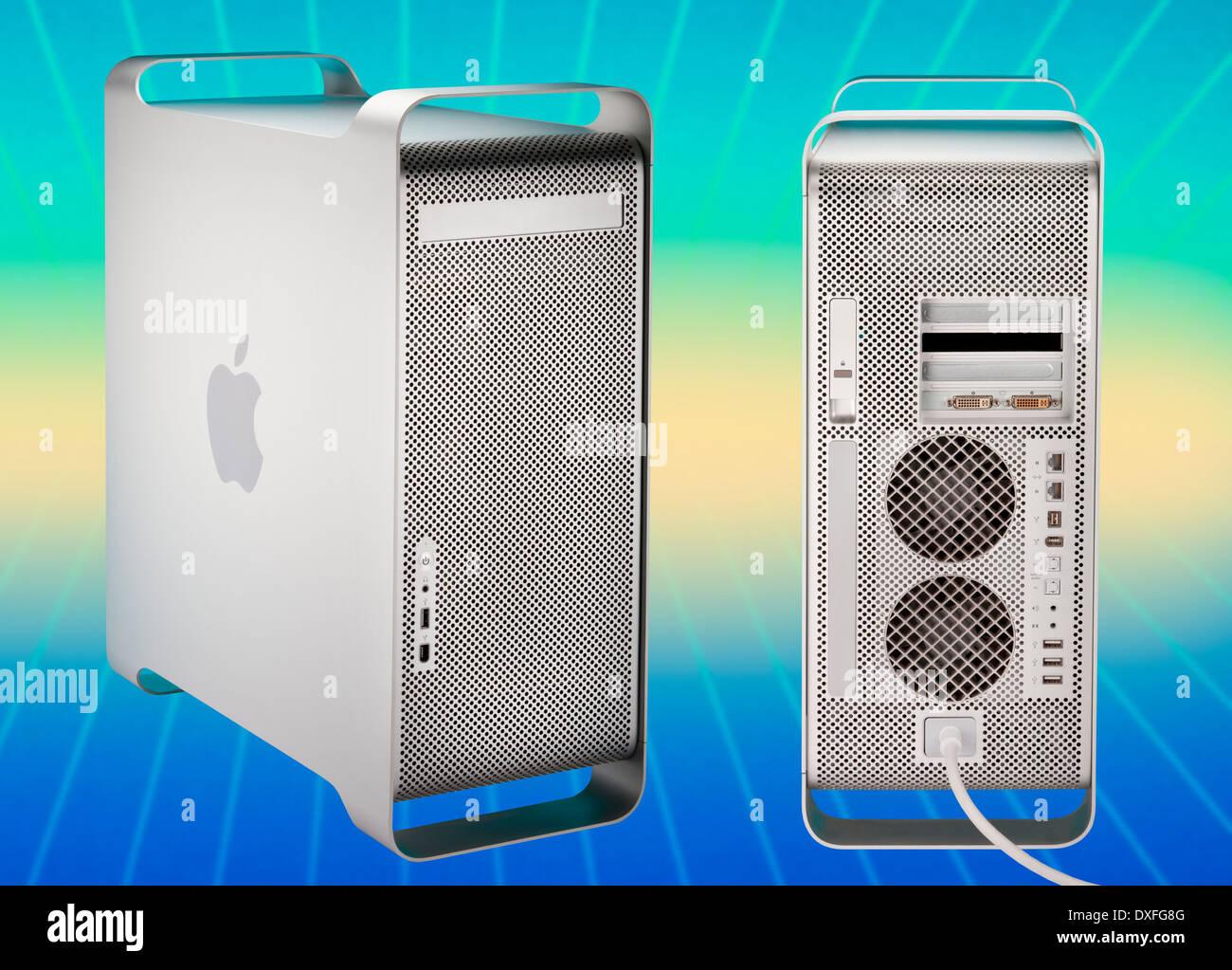 Power Mac G5 Apple Computer - Retro Photo Stock