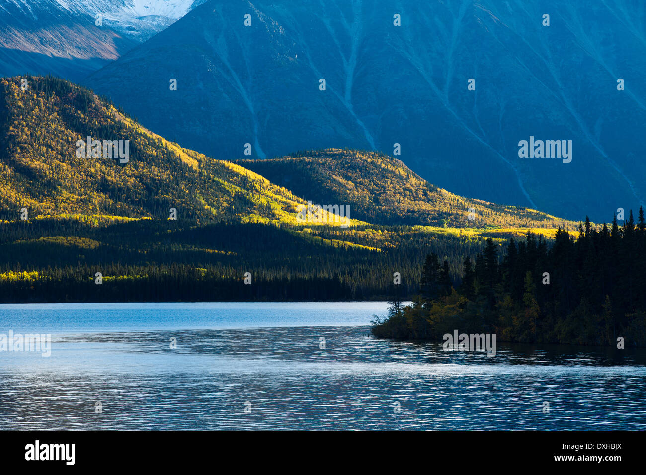 Tushti Lake & Young Peak, British Columbia, Canada Photo Stock