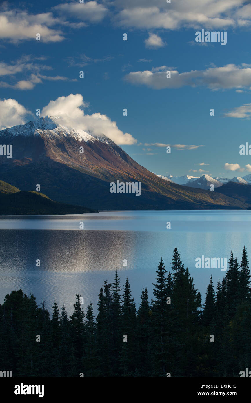 Lac Tutshi, British Columbia, Canada Photo Stock