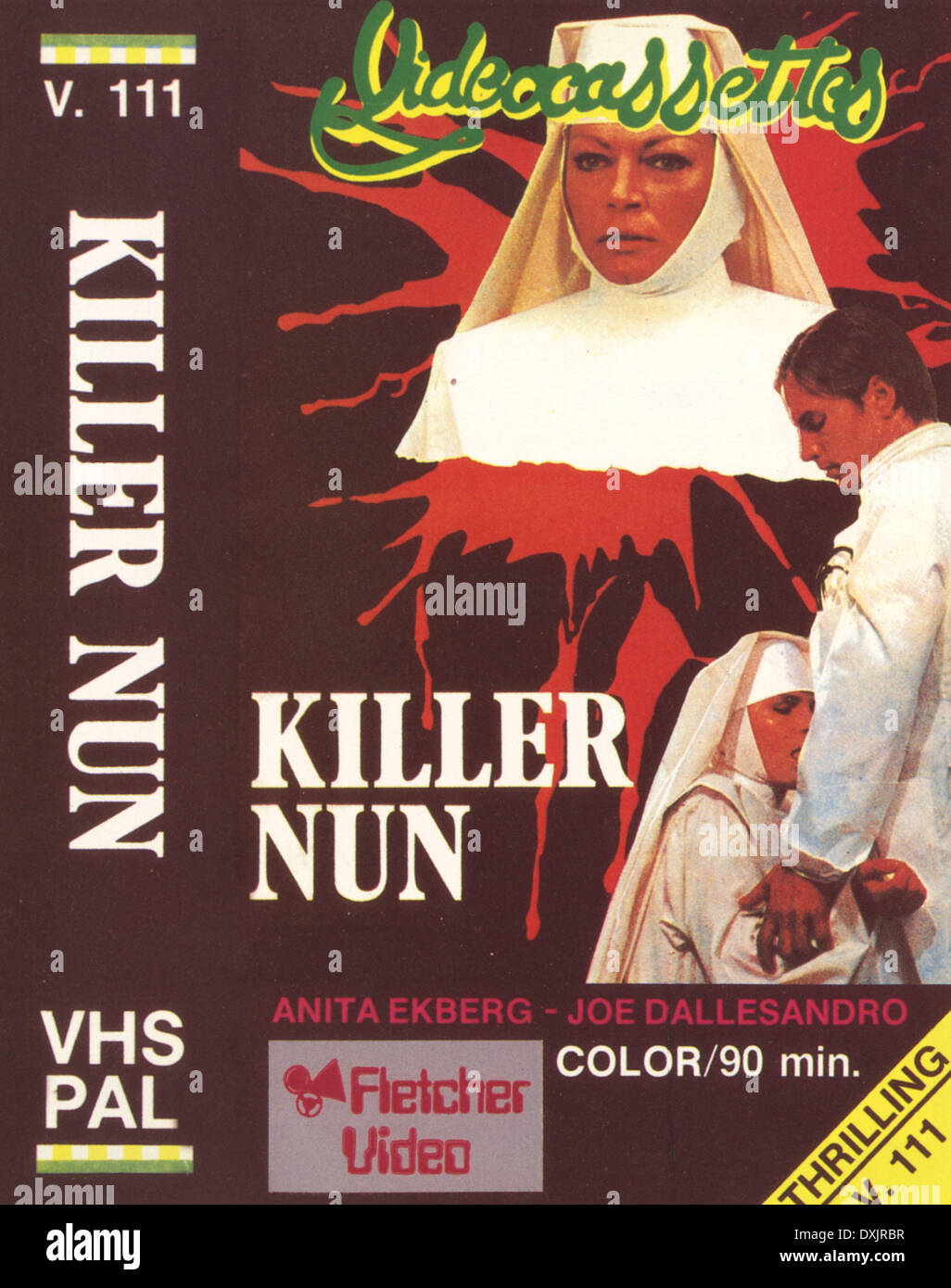 KILLER NUN (1978) PHOTO DE LA RONALD GRANT ARCHIVE Photo Stock