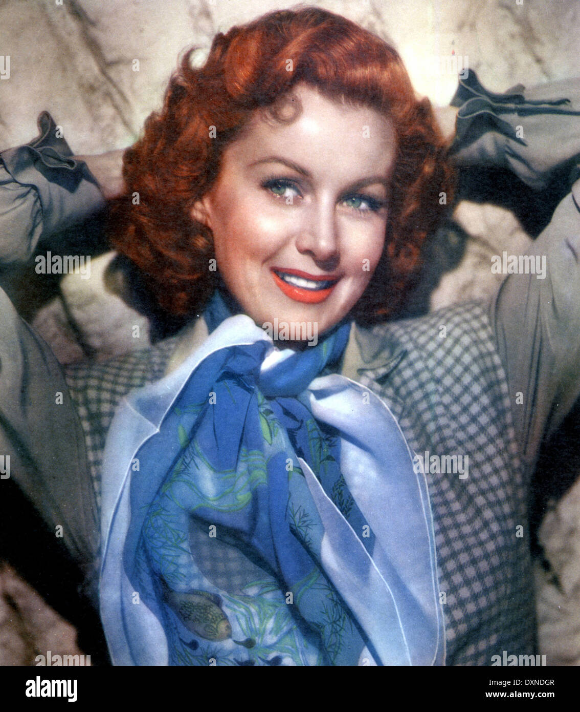 RHONDA FLEMING Photo Stock
