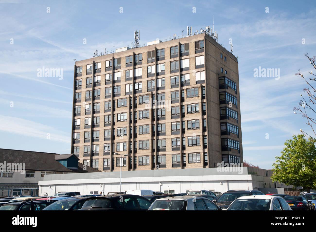 Unité de maternité à l'Hôpital d'Ipswich, NHS Trust, Ipswich, Suffolk, Angleterre Photo Stock