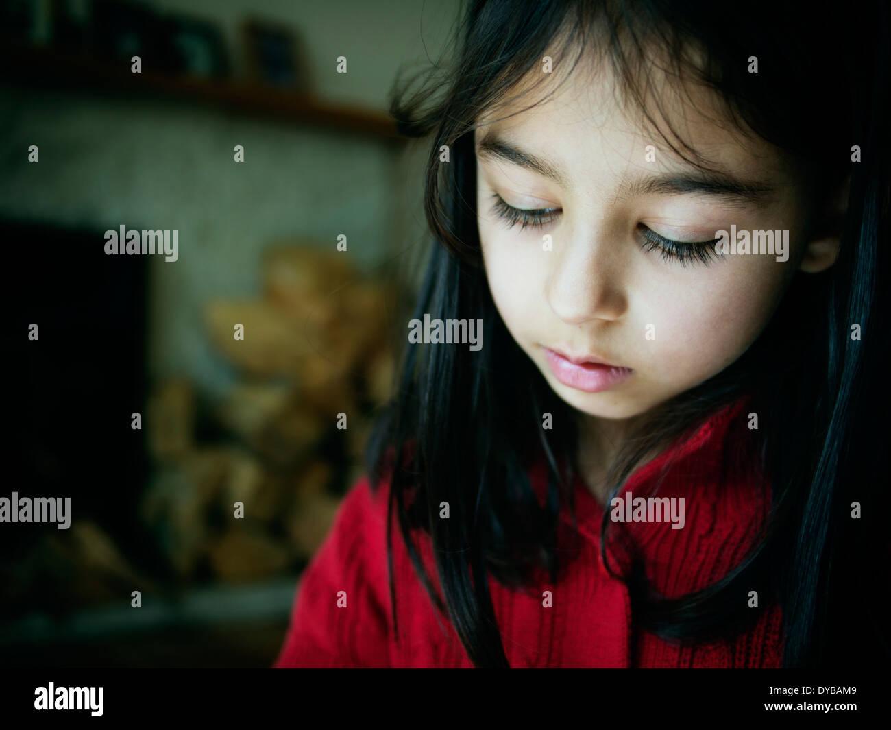 Girl portrait. M. Banque D'Images
