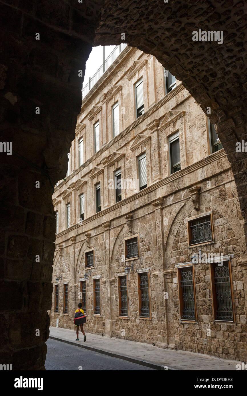 La vieille ville d'Akko (Acre), Israël. Photo Stock