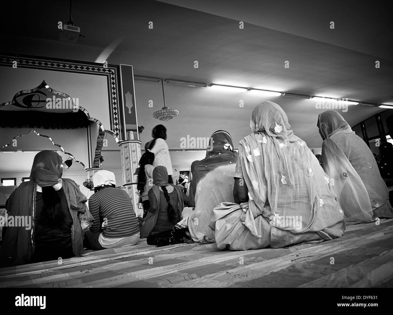 L'Italie, l'Emilie Romagne, Novellara, festival Baisakhi Banque D'Images