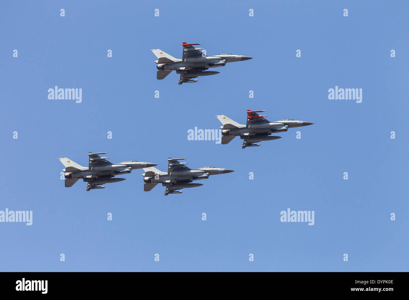 Lockheed-Martin F-16AM Fighting Falcon Banque D'Images