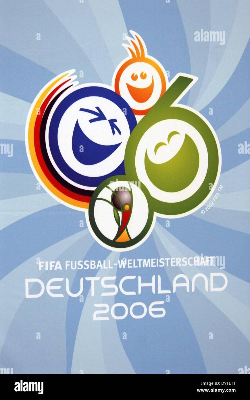 Affiche pour la coupe du monde de football de 2006 banque d 39 images photo stock 68765313 alamy - Coupe du monde de football 2006 ...