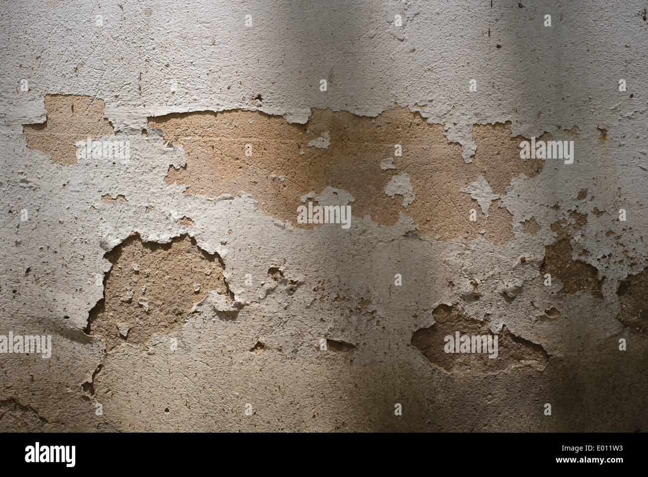Une Ombre Beige Blanc Cassé Mur Avec De La Peinture Un