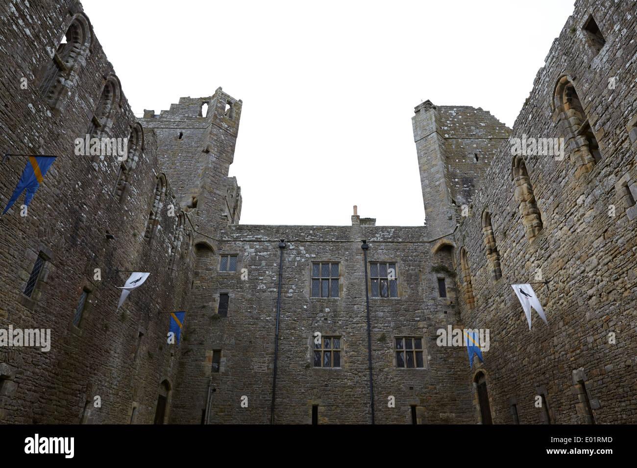 Ripley castle yorkshire Photo Stock