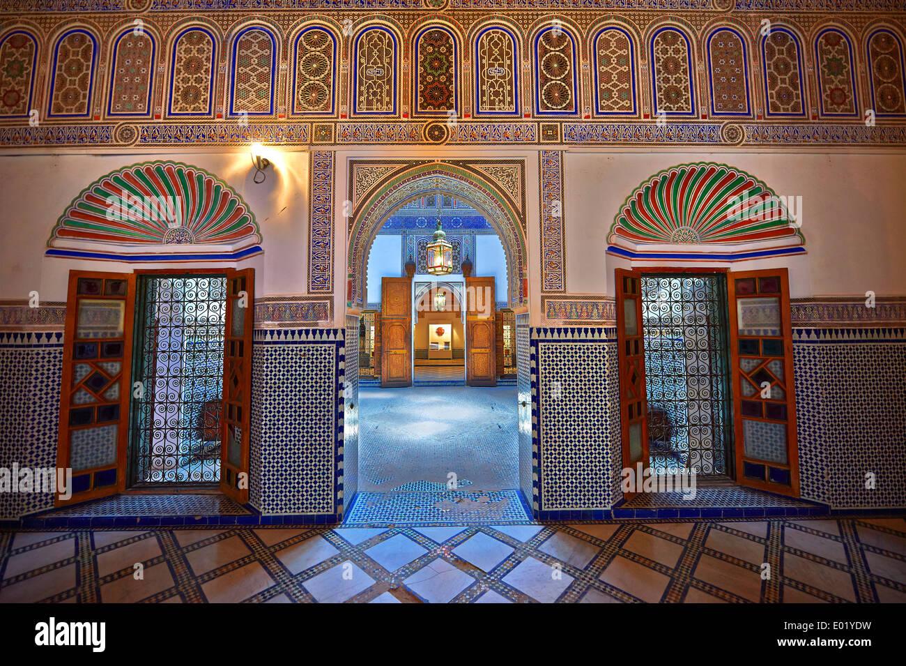 Marrakech Decoration D Interieur de l'intérieur décoration arabesque berbère bou ahmed's