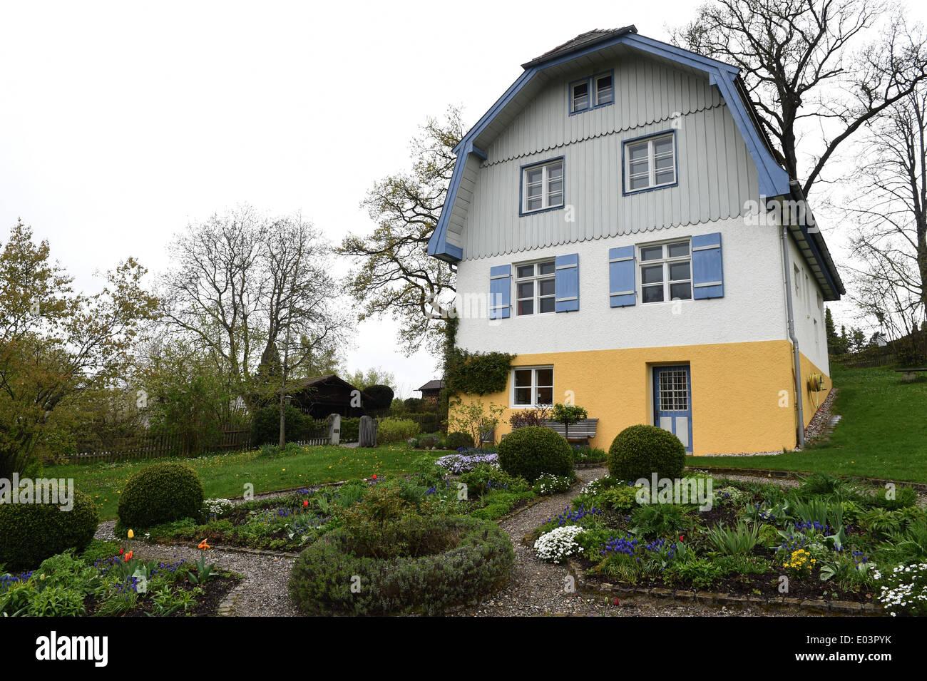 Murnau Allemagne 18 Avr 2014 Une Vue Sur La Pittoresque