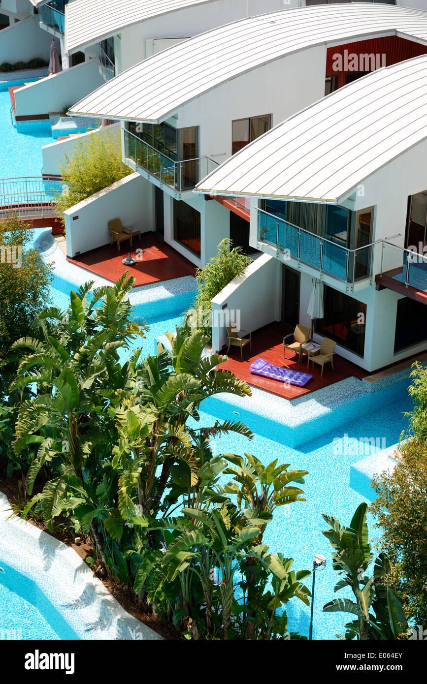 Villa moderne avec piscine à l\'hôtel de luxe, Antalya, Turquie ...