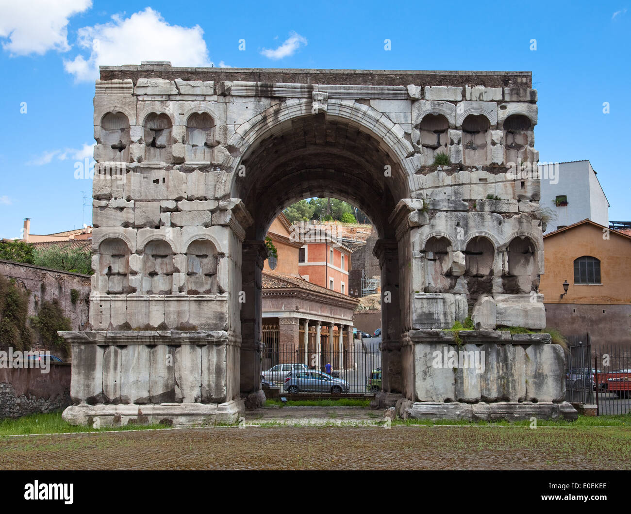 Janusbogen, Rom, Italie - Arc de Janus, Rome, Italie Photo Stock