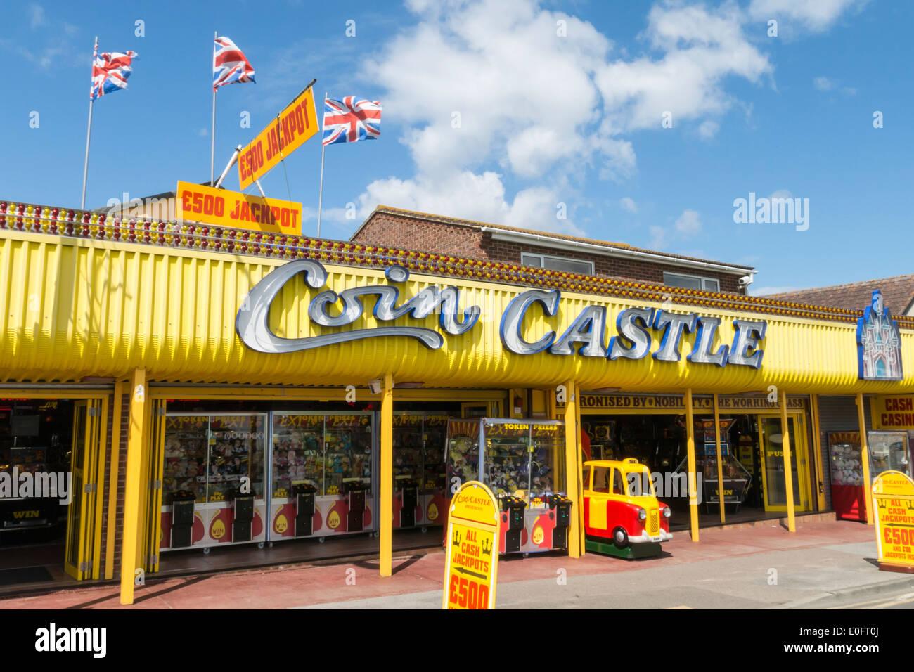 Family Amusement Arcade Ile de Sheppey Leysdown Photo Stock