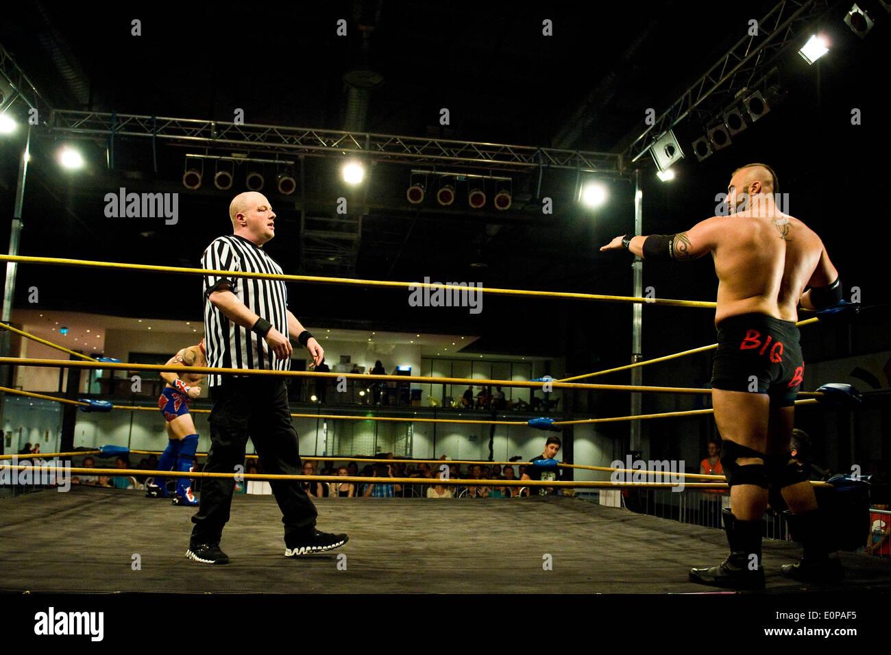 Wrestling Photo Stock