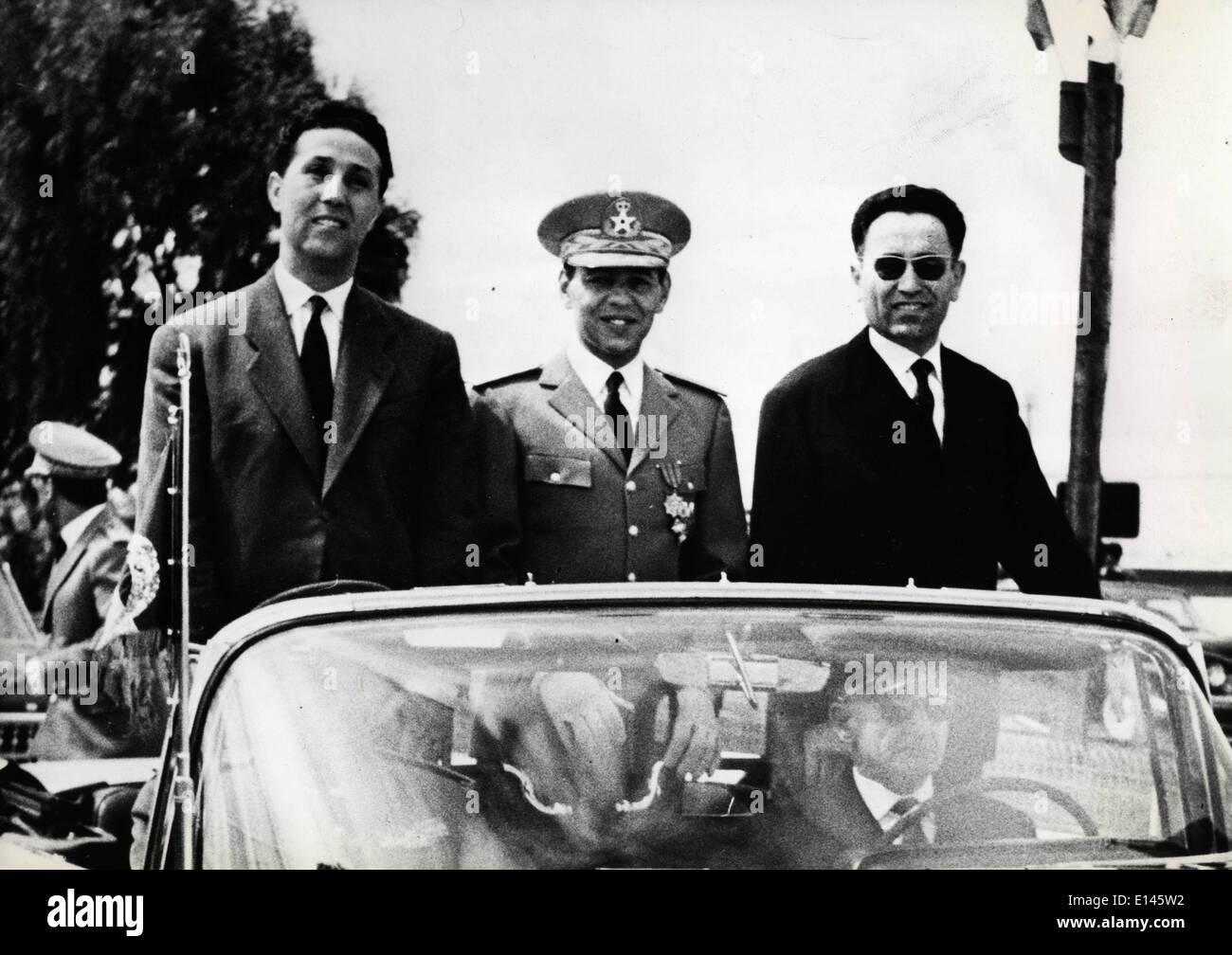 Fichier - Ahmed Ben Bella, le 25 décembre 1918 - 11 avril 2012 qui a été un membre clé de la révolution algérienne Banque D'Images