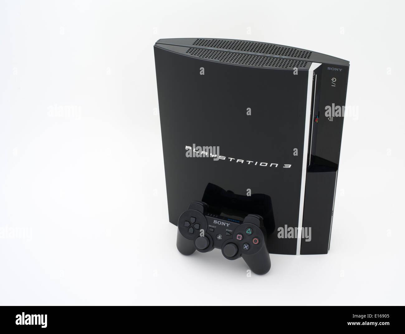 Sony PlayStation 3 console de jeu vidéo sorti au Japon système 11/ 11/ 2006 Photo Stock