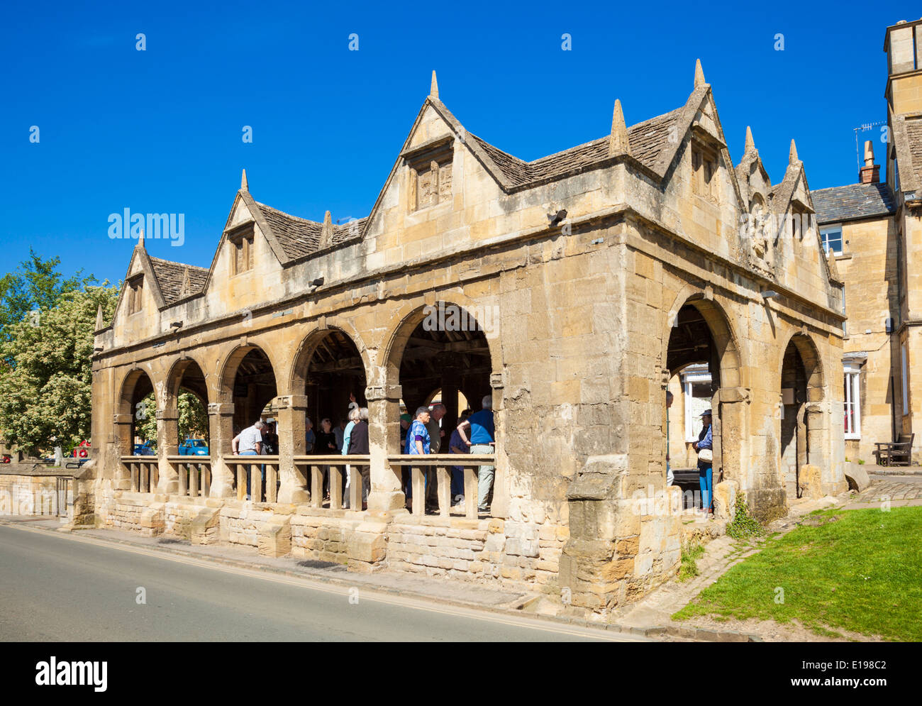 Chipping Campden Market Hall construit 1646 High Street Chipping Campden les Cotswolds Gloucestershire England UK EU Europe Photo Stock