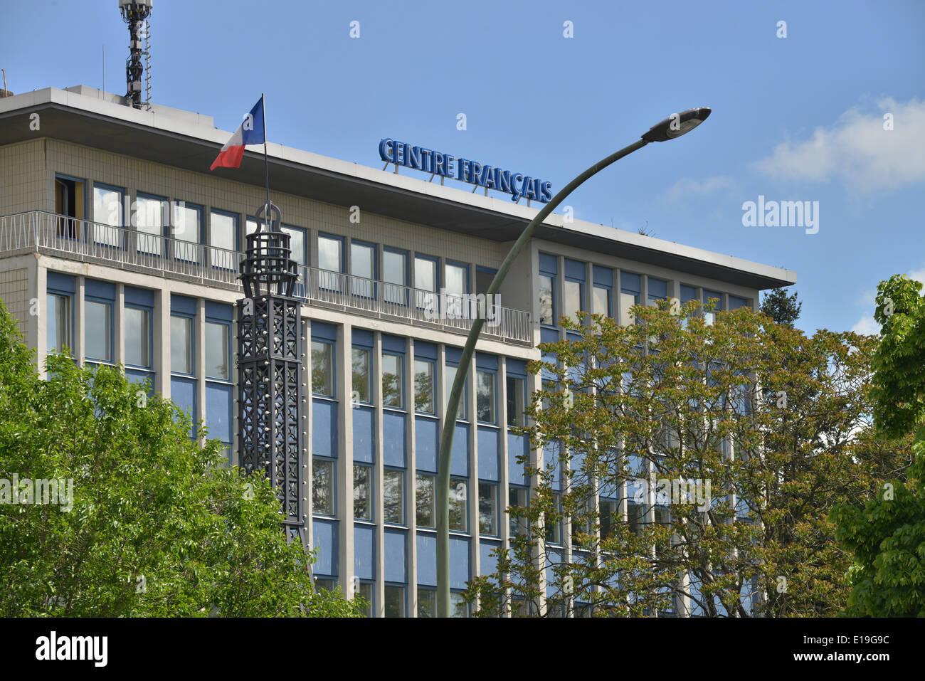 Centre Francais, Muellerstrasse, Mariage, Berlin, Deutschland / Mülllerstraße Photo Stock