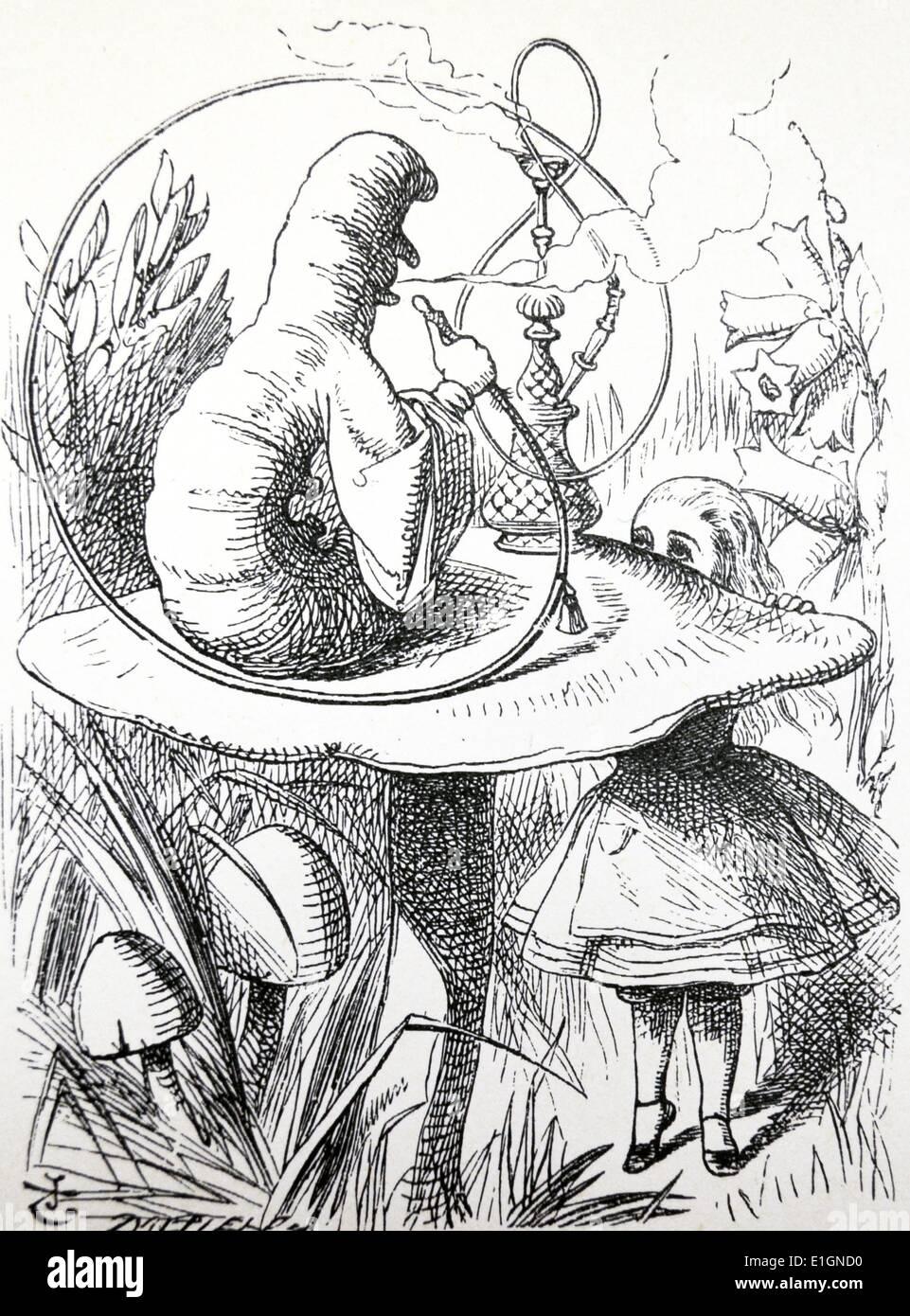Alice's Adventures in Wonderland Photo Stock
