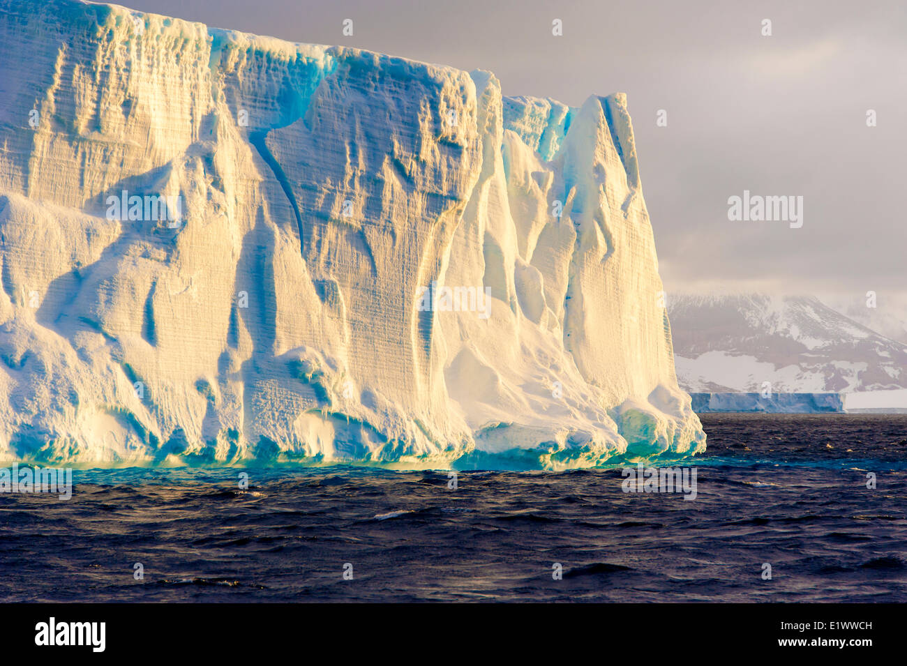 Antarctic Iceberg, Mer de Scotia, l'Antarctique Photo Stock