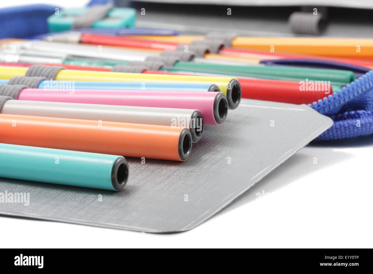 Articles de papeterie Photo Stock