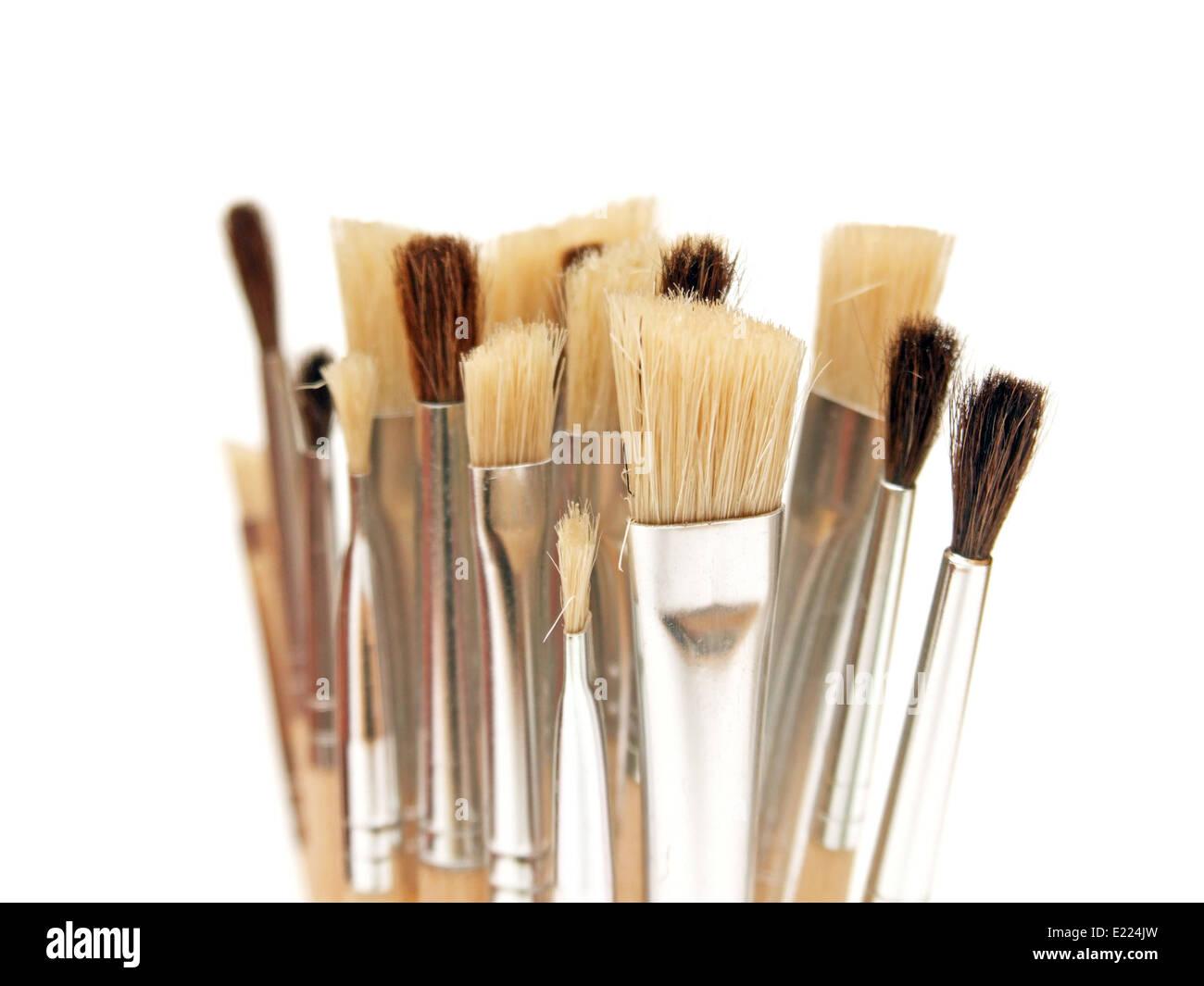 Paintbrush Banque D'Images