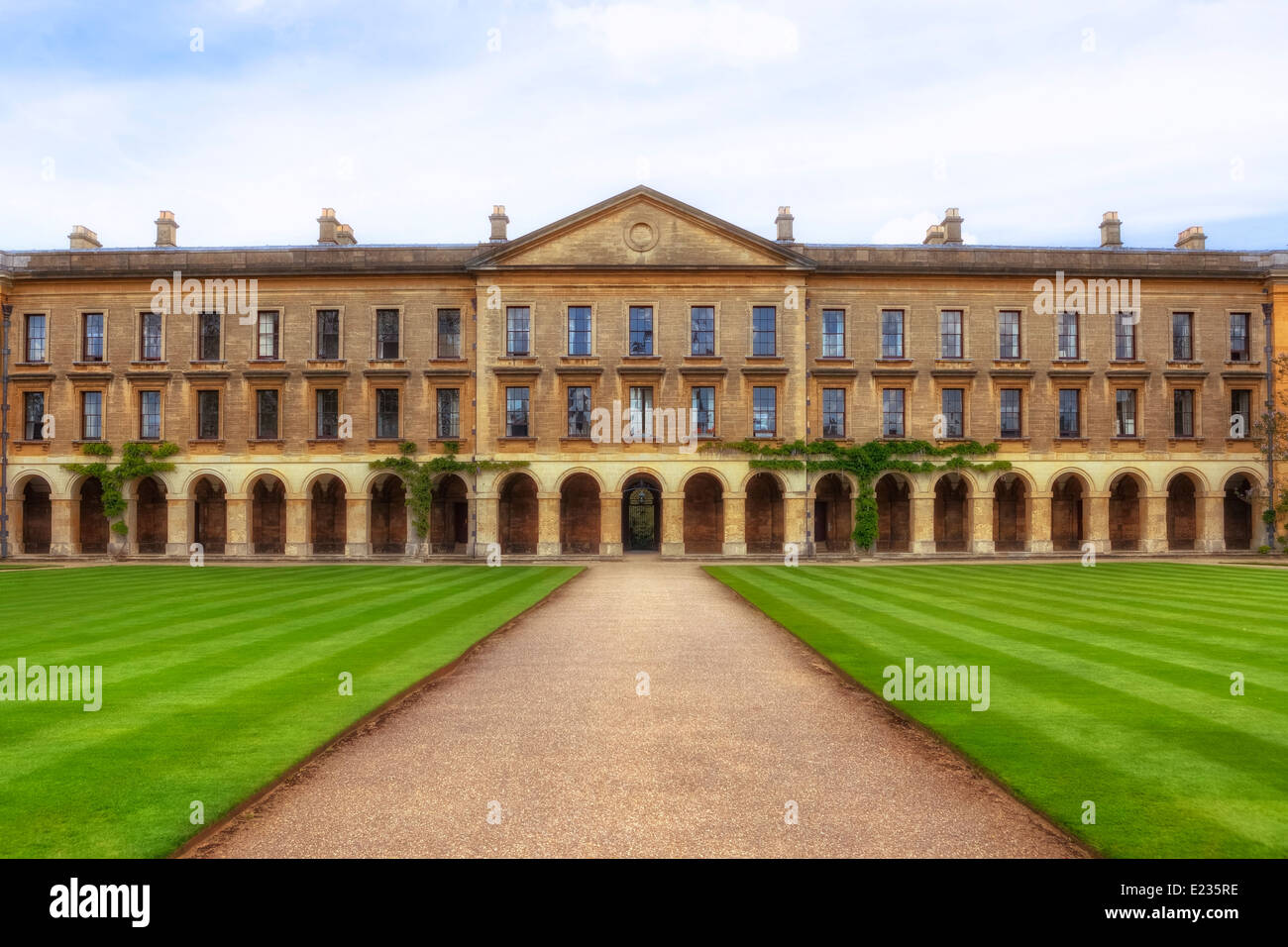 Magdalen College, Oxford, Oxfordshire, Angleterre, Royaume-Uni Photo Stock