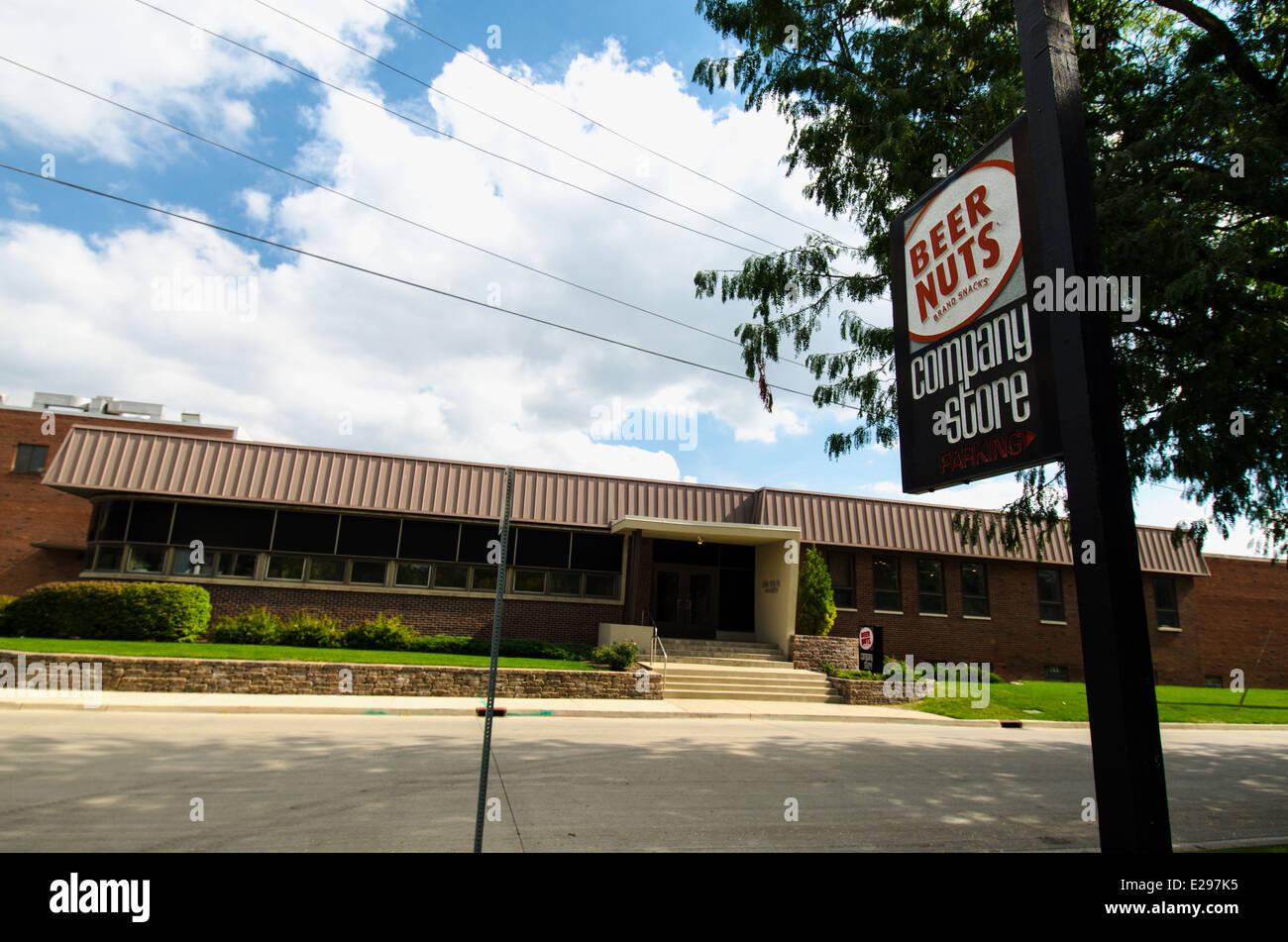 Les écrous de la bière Company Store à Bloomington, Illinois Banque D'Images