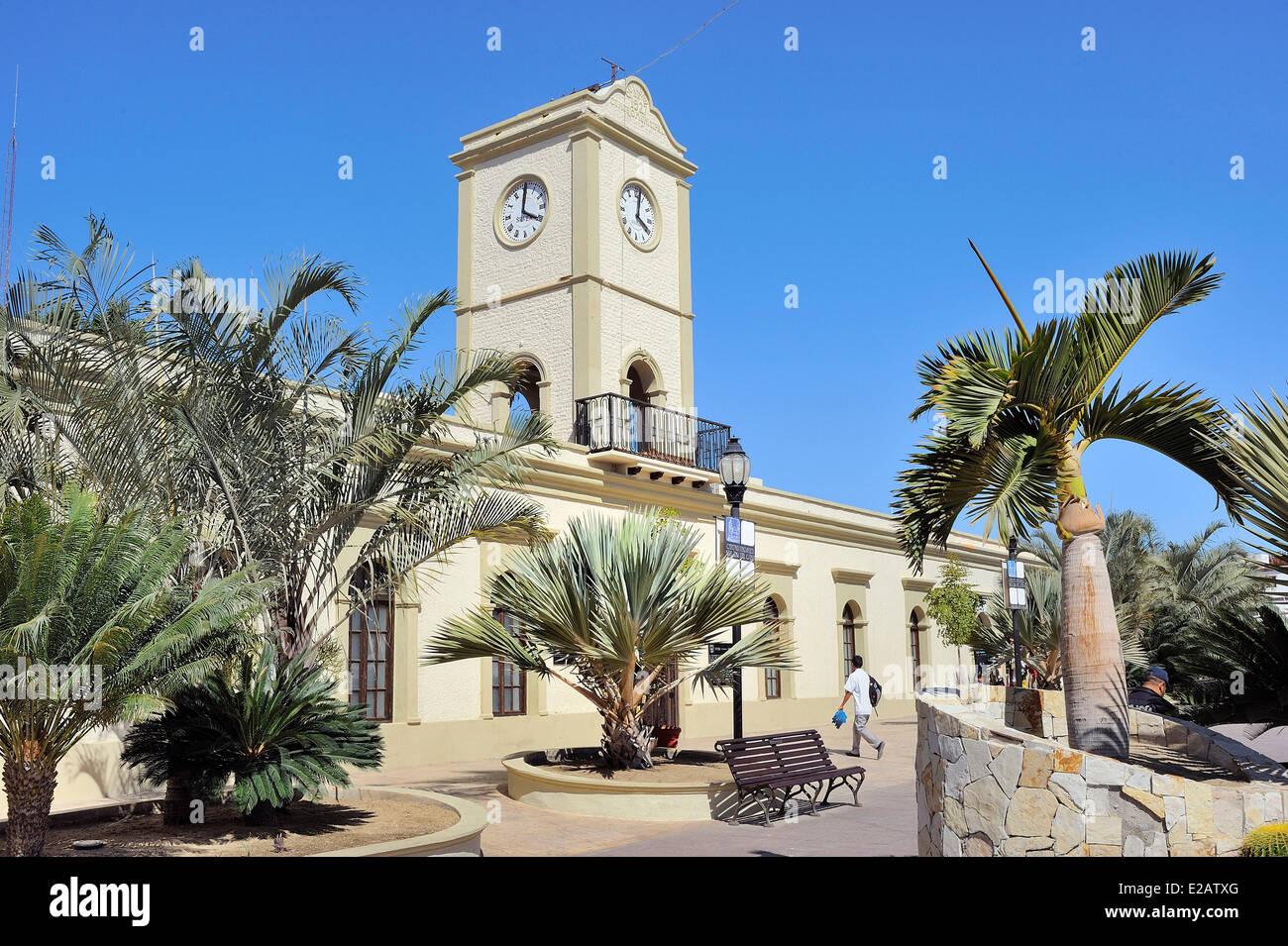 Le Mexique, l'État de Baja California Sur, San Jose del Cabo, l'hôtel de ville Photo Stock