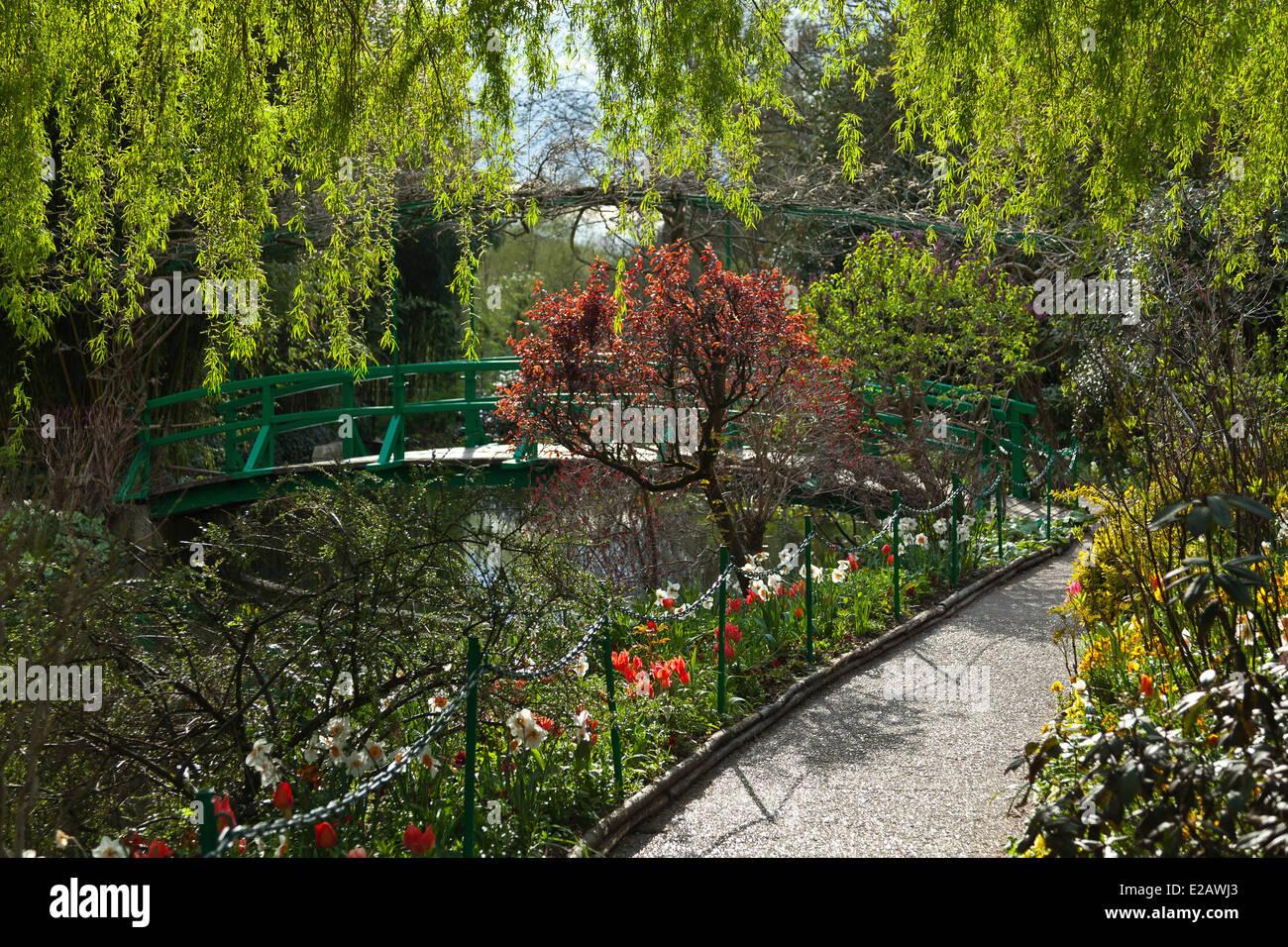 La france l 39 eure giverny claude monet les jardins de la fondation de la maison de monet le - Les jardins de monet ...