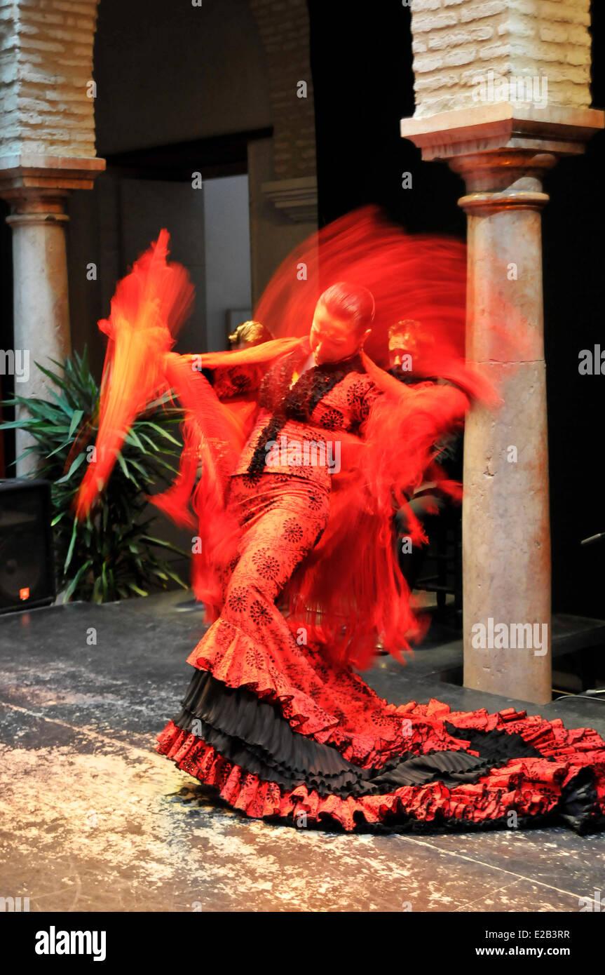 EspagneAndalousieSévilleMusée Danse De La Flamenco dBoCex