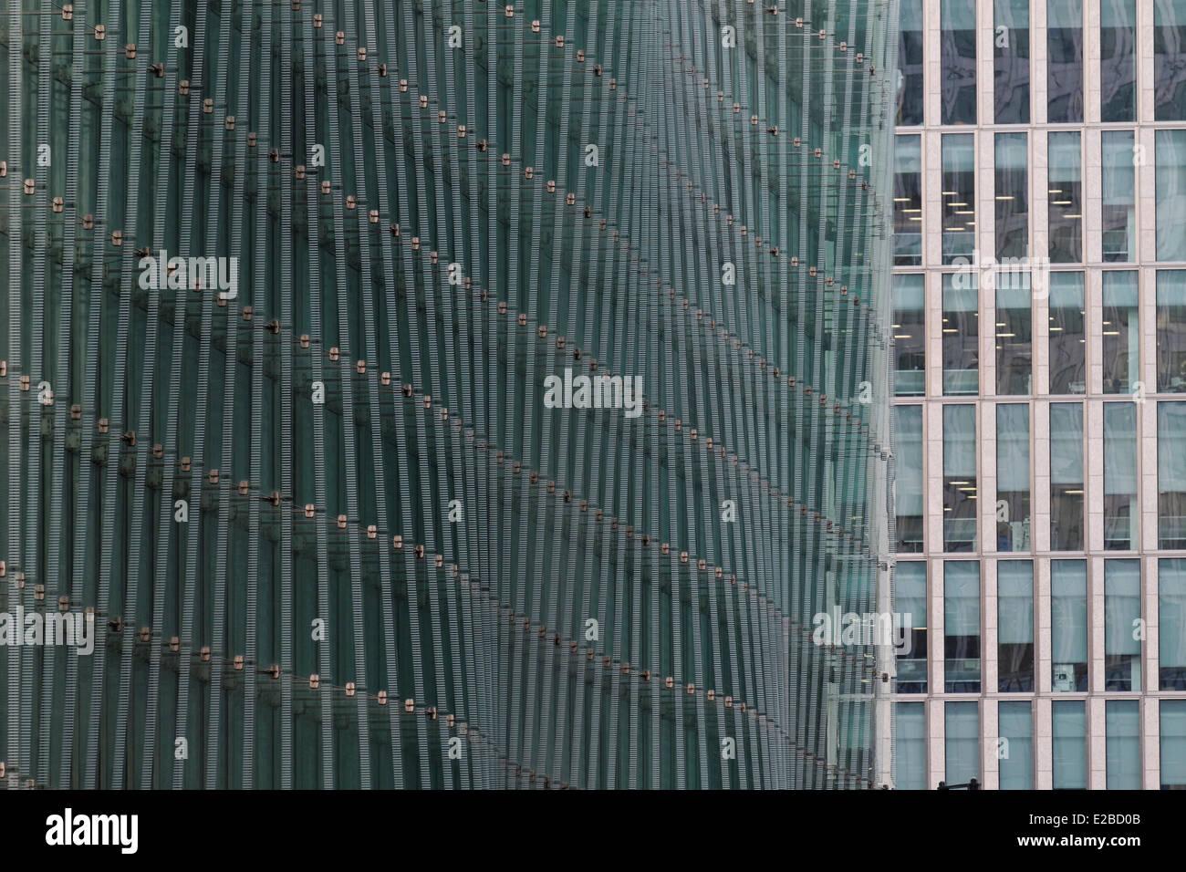 Royaume-uni, Londres, façade Photo Stock