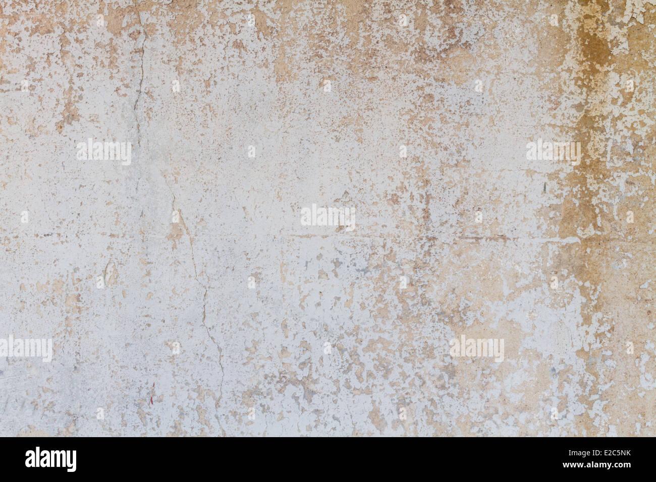 Texture rugueuse peinture pelée arrière-plan. Photo Stock