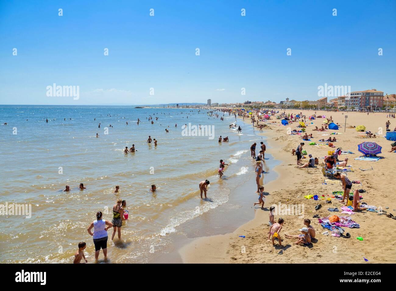 Valras plage sea beach photos valras plage sea beach - Office du tourisme valras plage herault ...