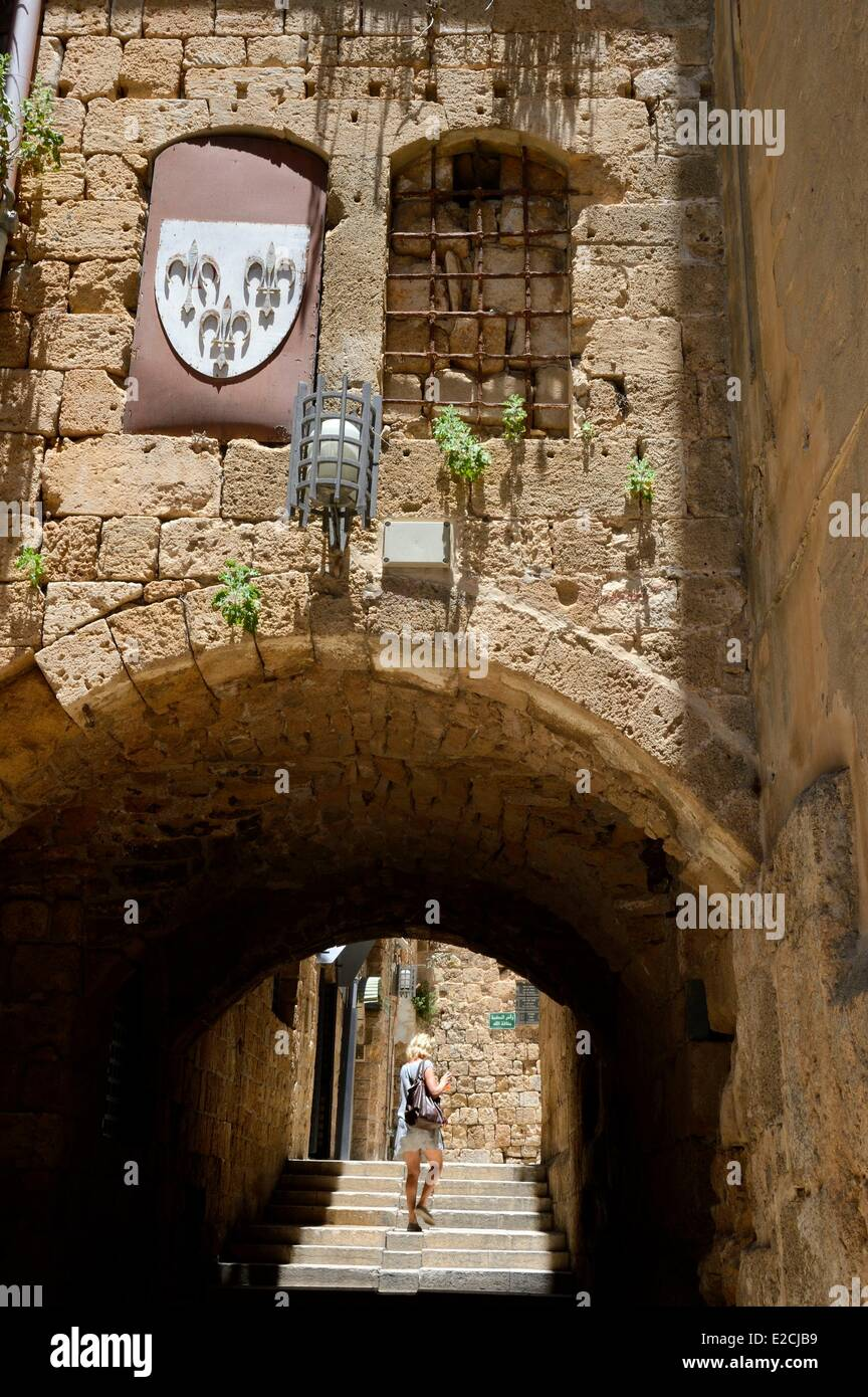 Israël, quartier Nord, la Galilée, Acre (Akko), vieille ville, classée au Patrimoine Mondial de l'UNESCO, Photo Stock