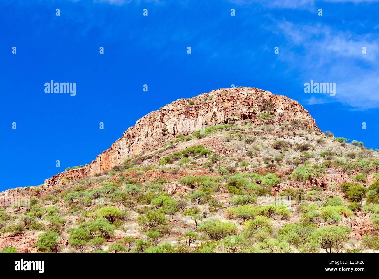 La Namibie, région de Kunene, Damaraland Banque D'Images
