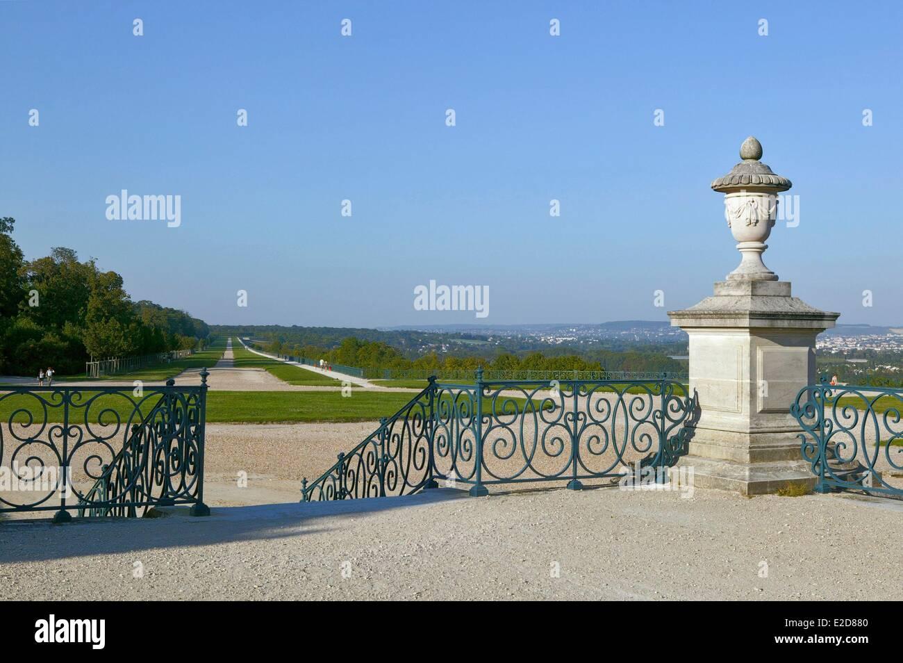 France Yvelines Saint Germain en Laye château jardins dessinés par ...