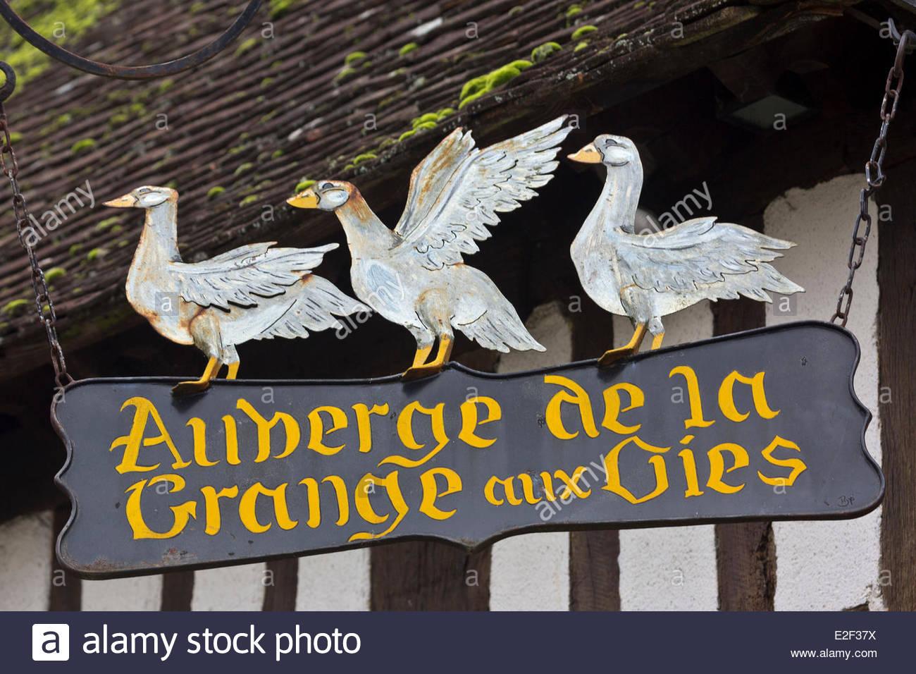 Enseigne photos enseigne images alamy - La grange aux oies souvigny ...