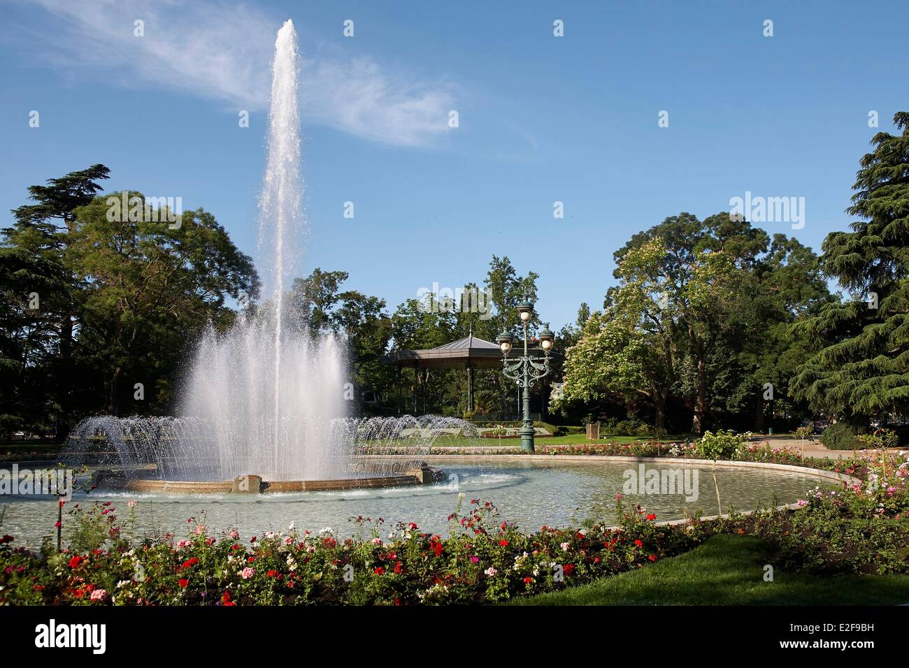 France, Haute Garonne, Toulouse, jardin du Grand Rond ou ...