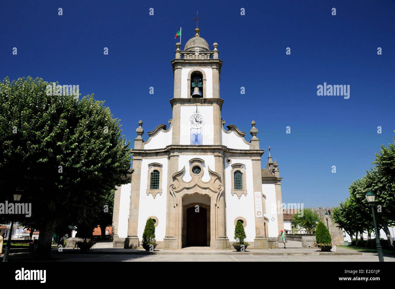 Portugal Tamega Cinfaes Eglise Saint Jean Le Baptiste