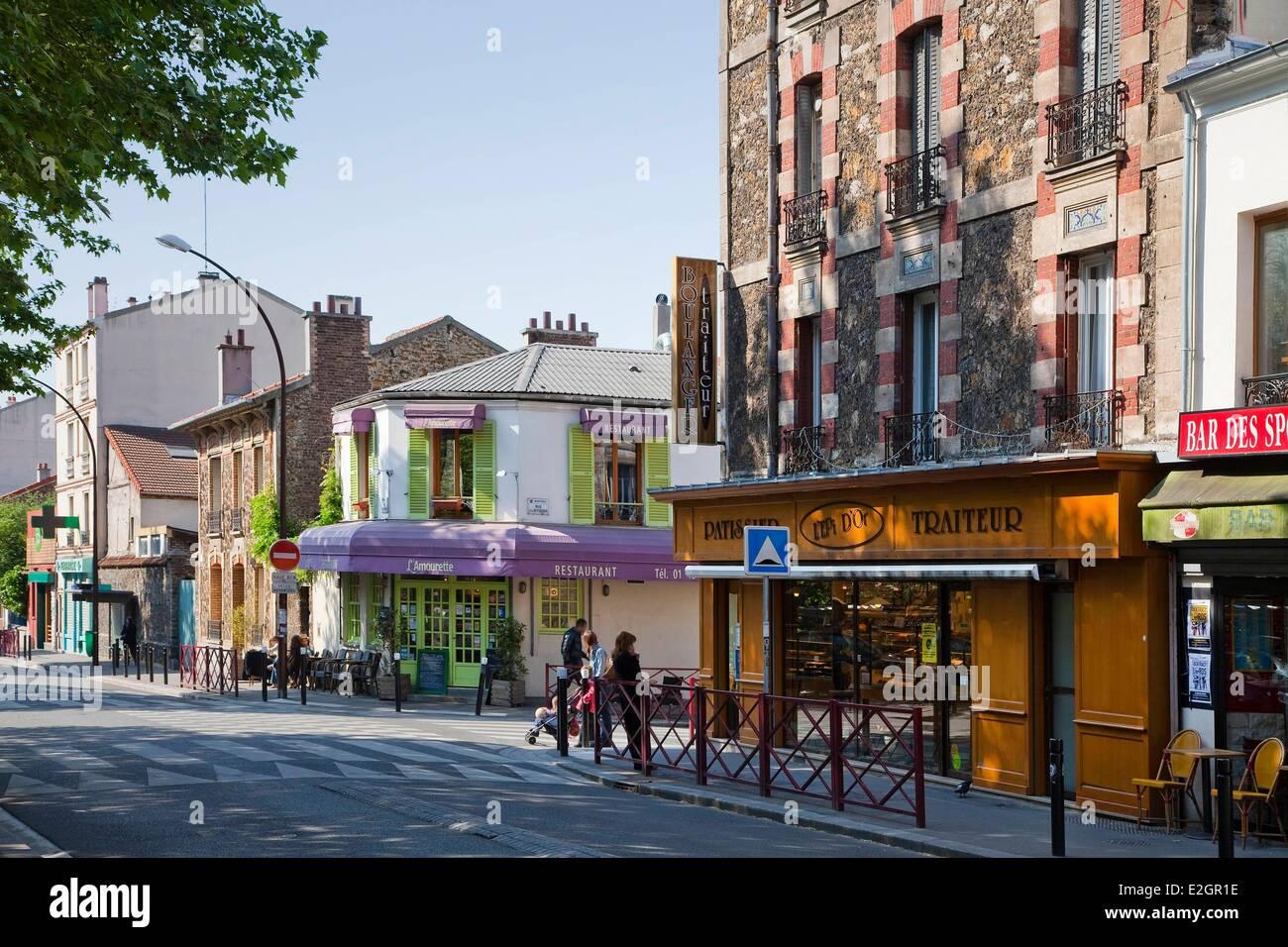 France Seine Saint Denis Montreuil Rue Robespierre