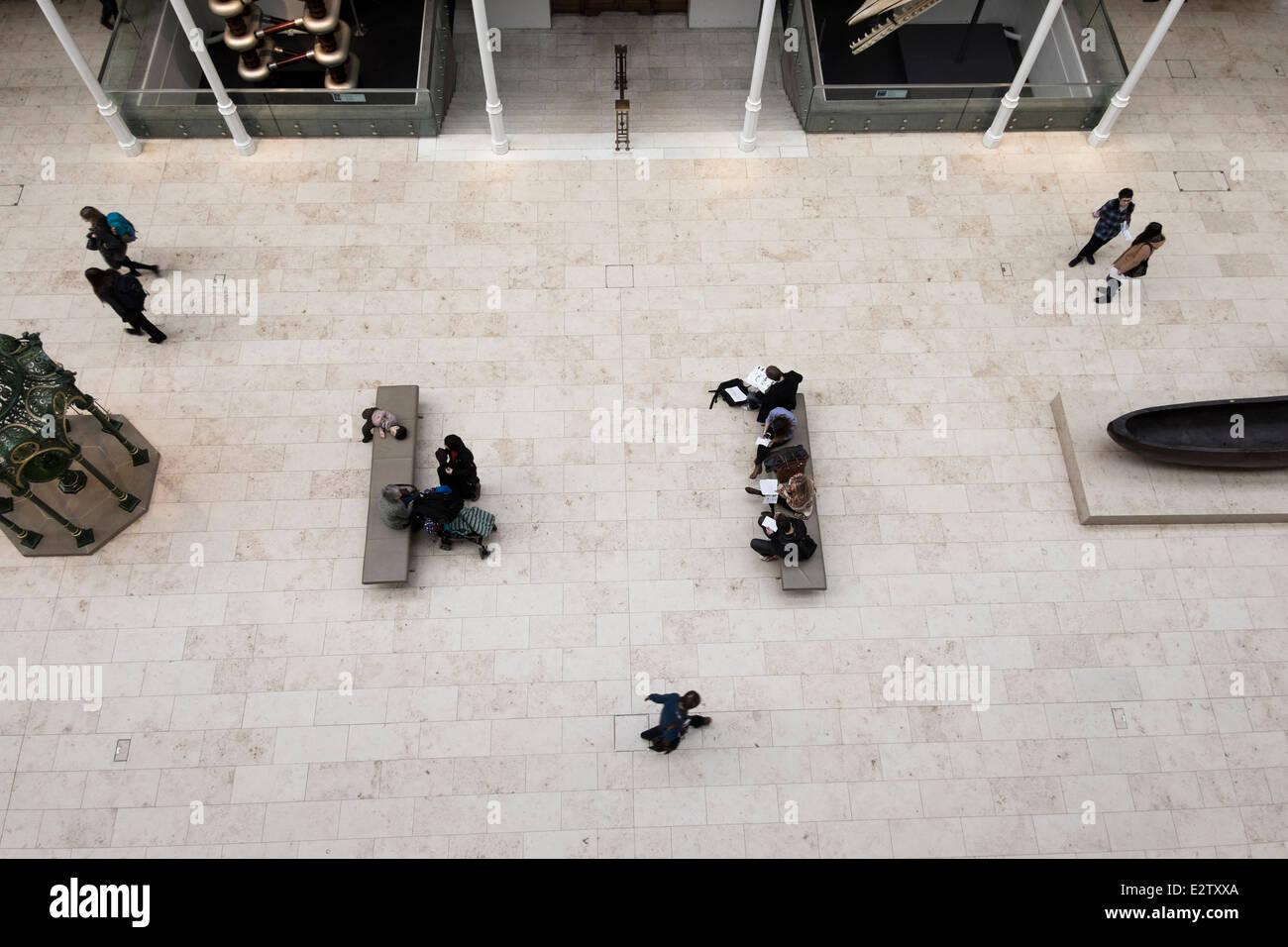 Musée national d'Écosse, Édimbourg, Écosse Photo Stock