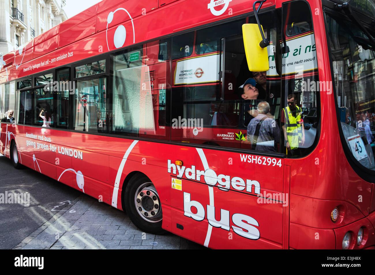 Regent Street, Londres, Royaume-Uni, 22 juin 2014. 2014 est l'année de l'Autobus: Pour célébrer Photo Stock