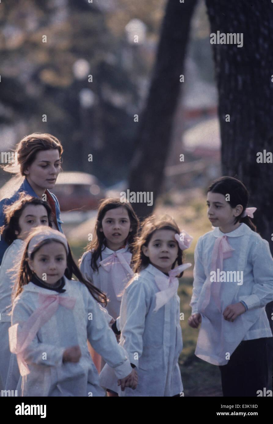 Les enfants de l'école primaire,70's Photo Stock